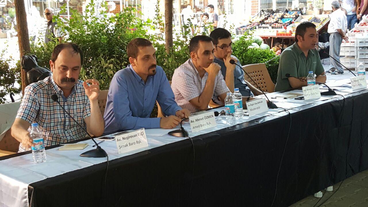 16. MUNZUR FESTİVALİNDE BARO BAŞKANIMIZ AV. TAHİR ELÇİ ANILDI...