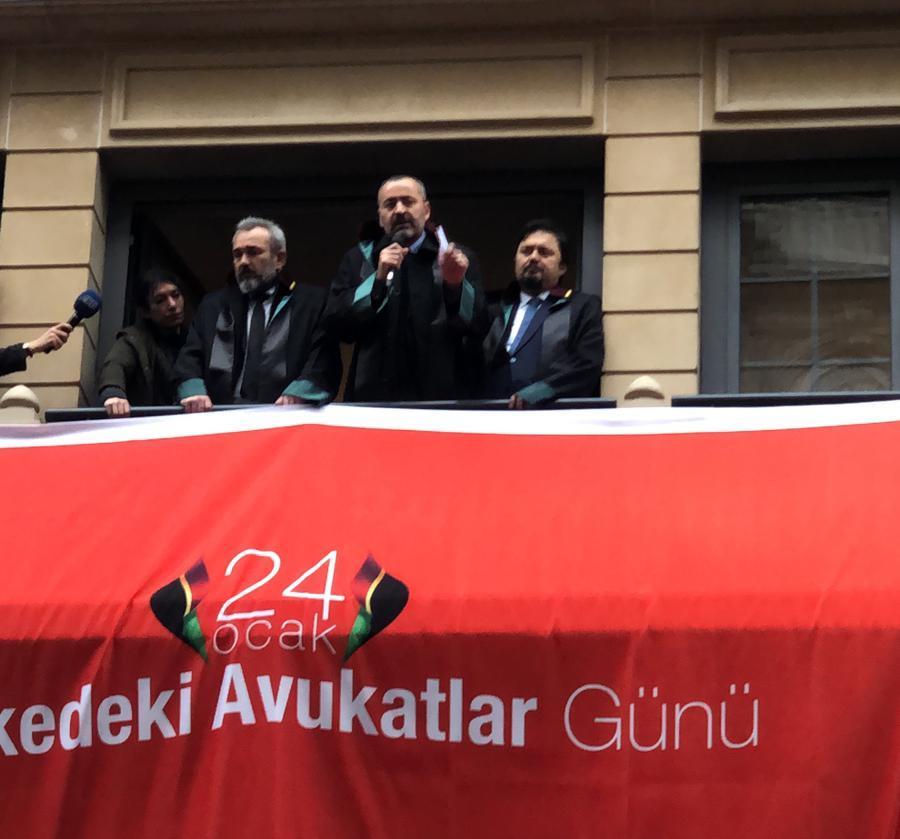 Baromuz 24 Ocak Tehlike Altındaki Avukatlar Günü Yürüyüşüne Katıldı...