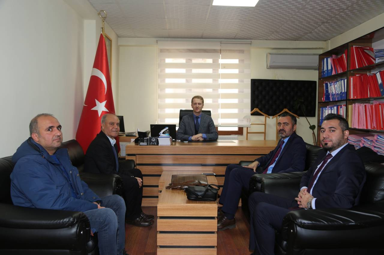 Baromuzdan Ergani Cumhuriyet Başsavcılığı'na Ziyaret…