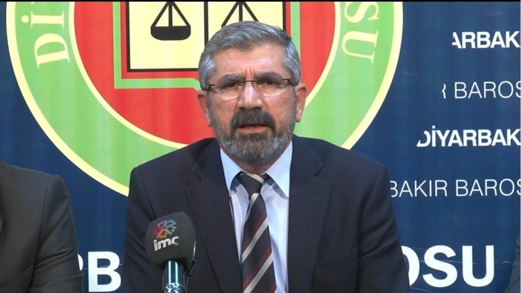 Baromuzun Silvan olaylarına ilişkin Basın Toplantısı (Baro Başkanımızın konuşması)
