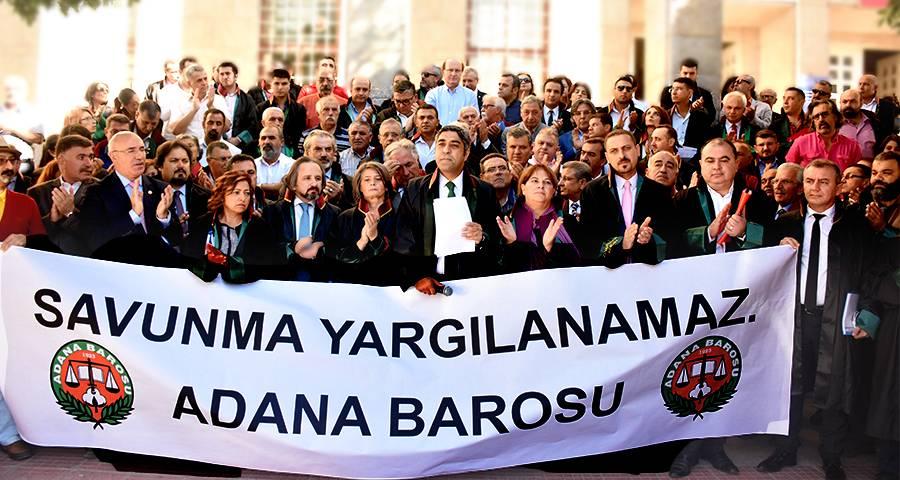 Başkanımızdan Adana Baro Başkanına Destek...