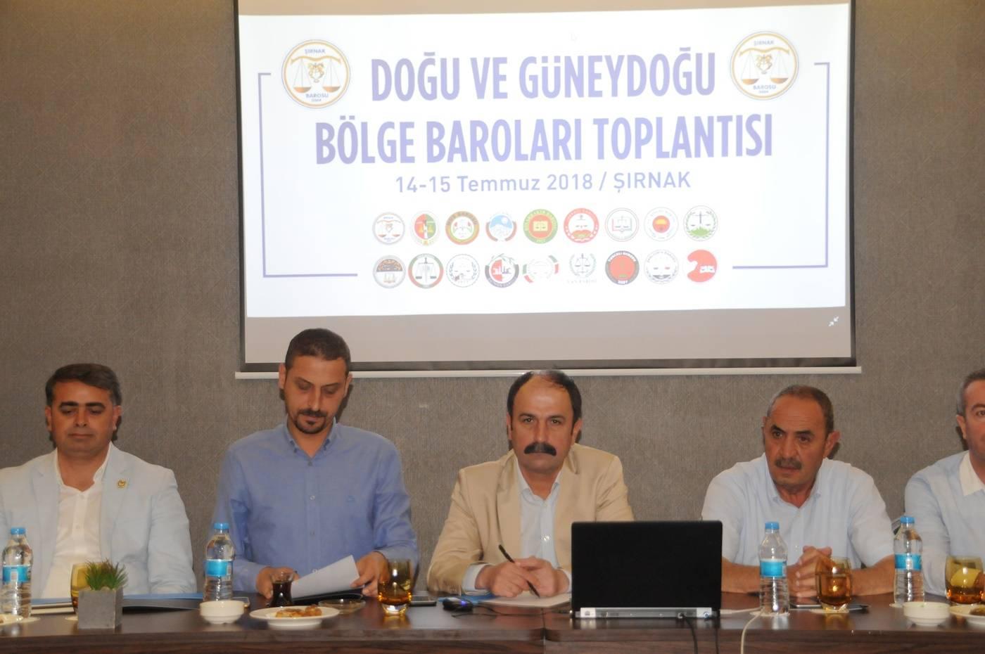 BÖLGE BAROLARI TOPLANTISI SONUÇ BİLDİRGESİ