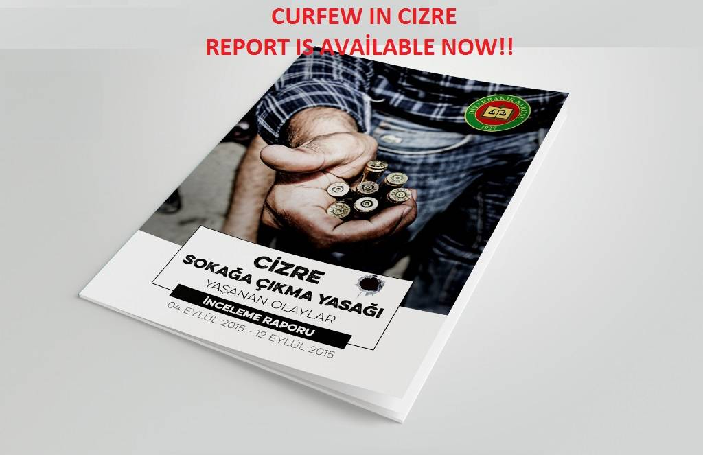 Curfew in Cizre report is available now!