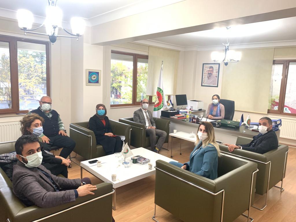 Deva Partisi Diyarbakır İl Yönetiminden Baromuza Ziyaret