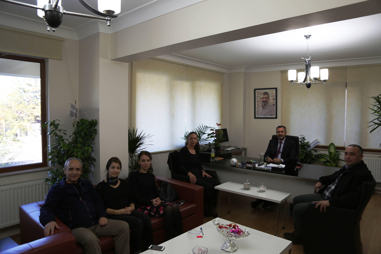 Disk Genel İş Sendikası Yönetim Kurulunun Baromuzu ziyareti...