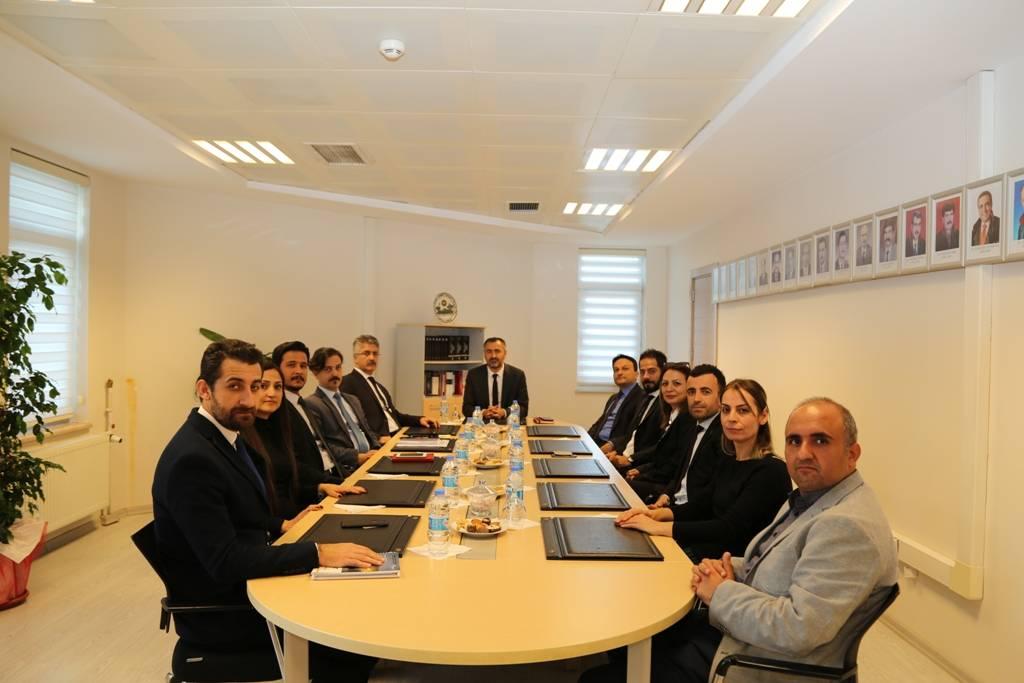 Diyarbakır Cumhuriyet Başsavcısı Kamil Erkut GÜRE ve Diyarbakır Adalet Komisyonu Başkanı Ercan ARSLAN'ın Baromuzu ziyareti...