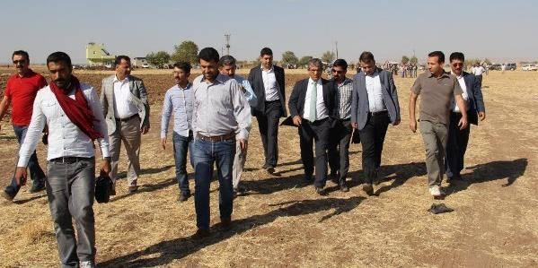 Diyarbakır STK Heyetinin Suruç/Kobani ziyareti.