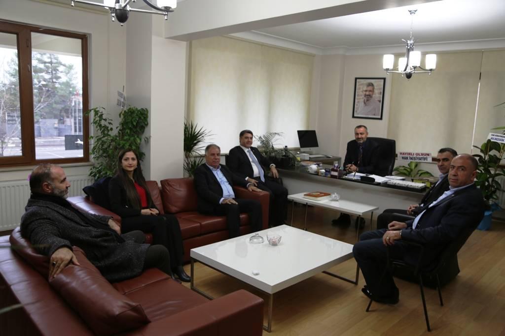 Diyarbakır Ticaret Borsasının Baromuzu Ziyareti...