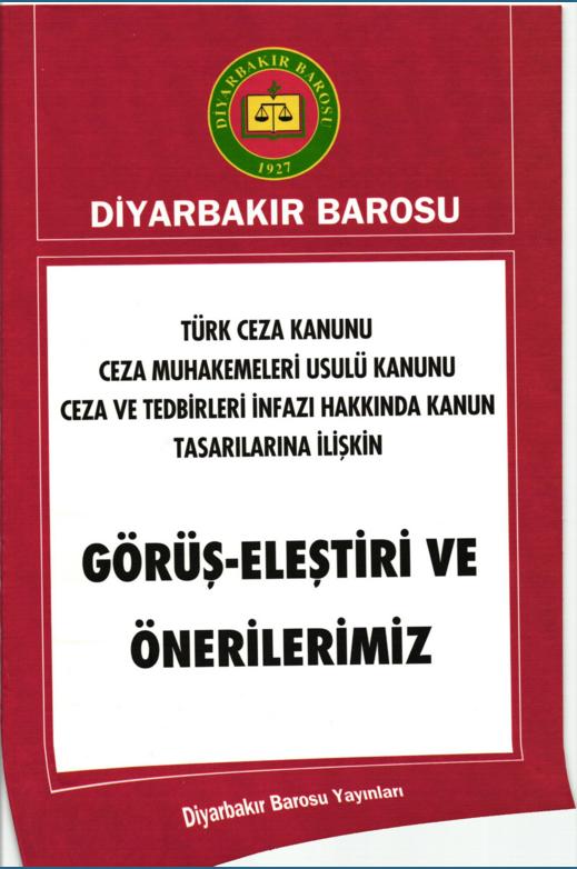 Türk Ceza Kanunu Ceza Muhakemeleri Usulü Kanunu Ceza Ve Tedbirleri İnfazı Hakkında Kanun Tasarıların İlişkin Görüş- Eleştiri Ve Önerileriniz
