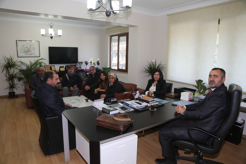 HDP Bağlar Belediye Eşbaşkan Adayları Baromuzu Ziyareti...