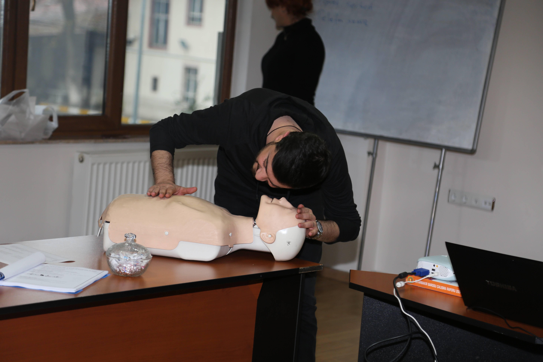 İlk Yardım Eğitimi Birinci Grup Çalışması Başladı...