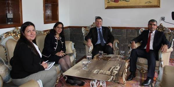 İngiltere Büyükelçisinin Baromuzu ziyareti.