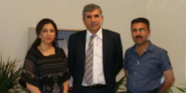 Irak Kürdistan Federe Bölgesinden Baromuza ziyaret..