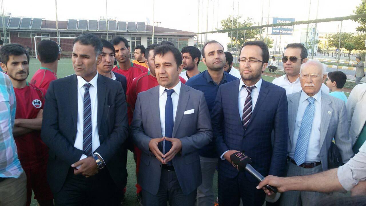 Şanlıurfa Barosunun Baro Başkanımız Av. Tahir ELÇİ Adına Düzenlediği Futbol Turnuvası Bitti...