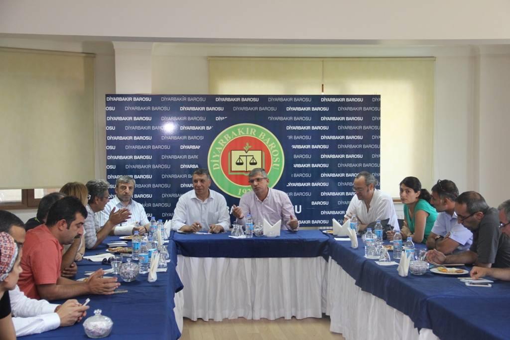 Sansüre Karşı Gazeteciler Platformunun Baromuzu ziyareti..