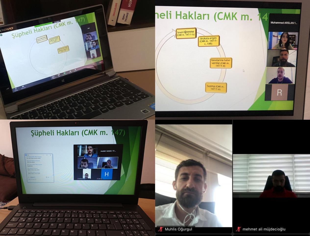 CMK Eğitimleri Online Olarak Gerçekleştirildi