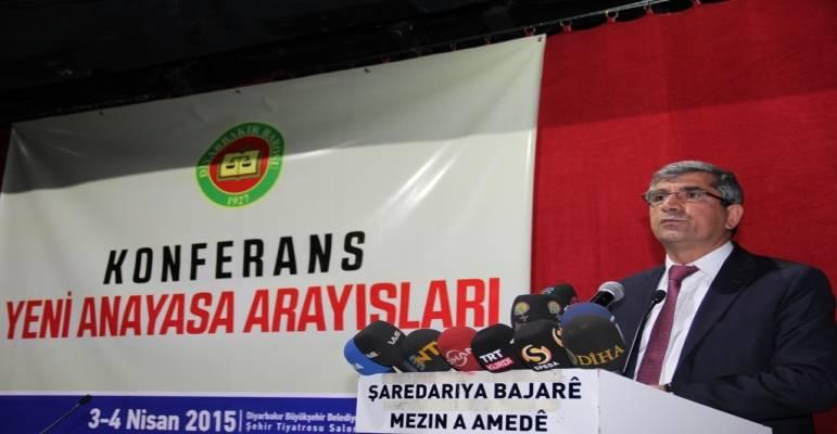Yeni Anayasa Arayışları Konferansı başladı