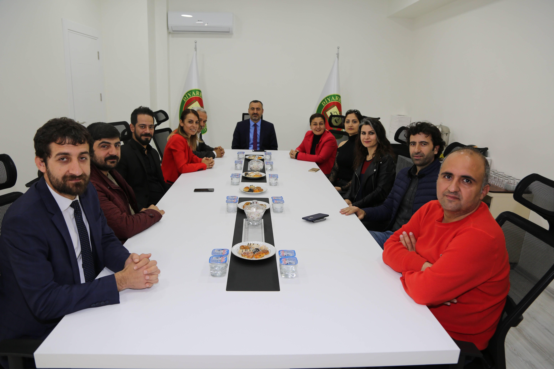 Yeni Seçilen Belediye Eşbaşkanları 5 Nisan Avukatlar Günü Vesilesiyle Baromuzu Ziyare Etti.